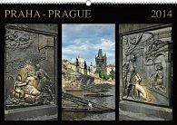 Kalendář 2014 - Praha Exclusive - nástěnný s prodlouženými zády