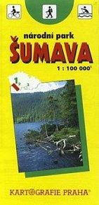 Šumava národní park  1:100 000