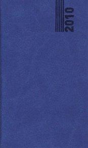 Diář 2010 Tuscon kapesní modrá