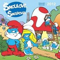 Kalendář nástěnný 2012 - Šmoulové, 30 x 60 cm