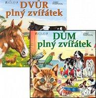 Balíček 2ks Dům plný zvířátek + Dvůr plný zvířátek