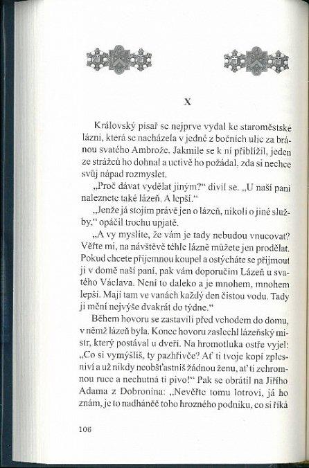 Náhled Ulička hanby - Letopisy královské komory