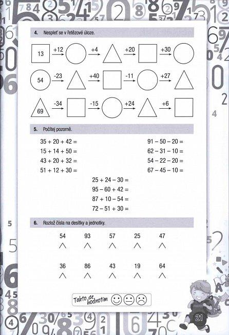 Náhled Hravé úkoly z matematiky pro děti ve věku 8-9 let