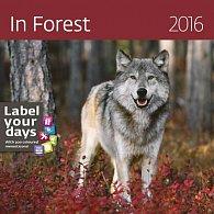 Kalendář nástěnný 2016 - In Forest