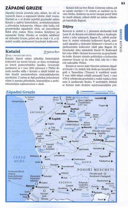 Náhled Gruzie, Arménie a Ázerbájdžán - Lonely Planet