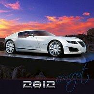 Concept Cars - nástěnný kalendář 2012