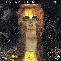 Kalendář 2011 - Gustav Klimt (30x60) nástěnný poznámkový