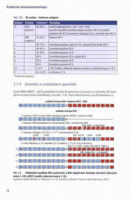 Náhled Praktická imunohematologie