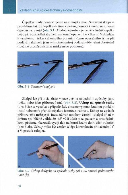 Náhled Základní chirurgické techniky a dovednosti