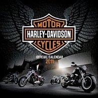 Harley-Davidson 2011 - nástěnný kalendář