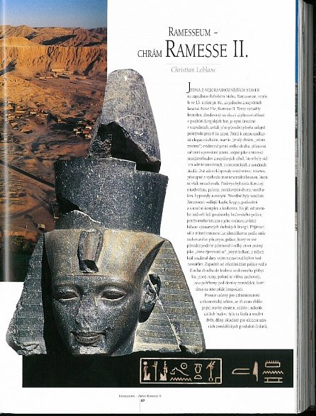 Náhled Údolí králů - Hrobky a zádušní chrámy západních Théb