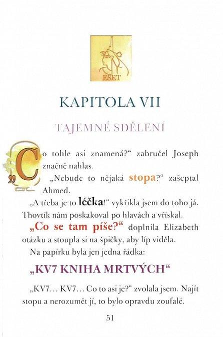 Náhled Zmizení papyru turínského - Klub stopařů