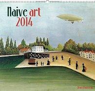 Kalendář 2014 - Naivní umění Henri Rousseau - nástěnný