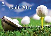 Kalendář nástěnný 2017 - Golf/Exclusive