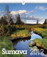 Kalendář 2012 - Šumava, nástěnný