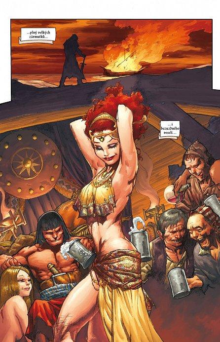 Náhled Conan - Dcera pána mrazu a další povídky - brož.