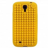 Samsung S4 Pixel Case žlutá