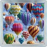 64 d. 3D Magnetické puzzle Balony