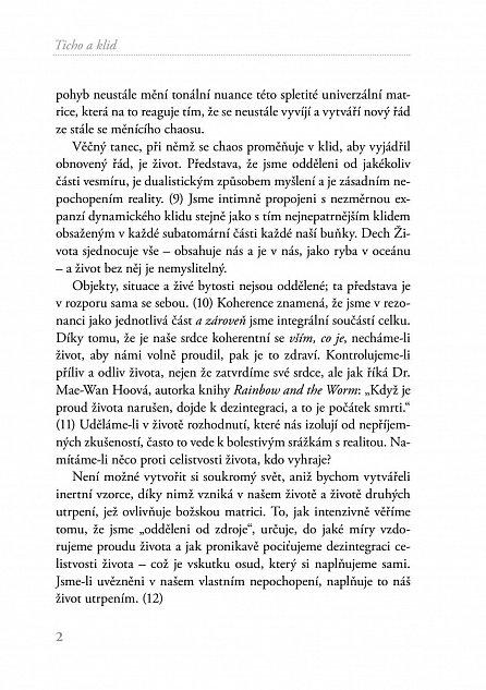 Náhled Ticho a klid - Kraniosakrální biodynamika a evoluce vědomí