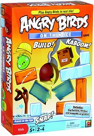 Angry Birds na tenkém ledě