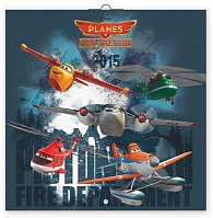 Kalendář 2015 - W. Disney Letadla - nástěnný (CZ, SK, HU, GB)