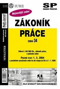 Zákoník práce Právní stav k 1.3.2004