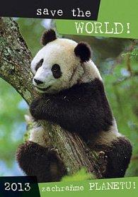 Zachraňme planetu - nástěnný kalendář 2013