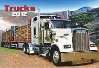 Kalendář nástěnný 2012 - Trucks, 48 x 33 cm
