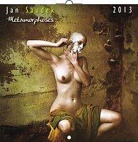 Kalendář 2013 poznámkový - Jan Saudek Metamorphoses, 30 x 60 cm