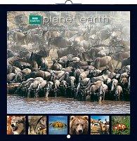 Kalendář 2013 poznámkový - BBC Planet Earth, 30 x 60 cm