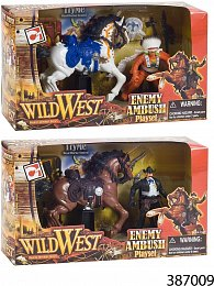 Hrací set Divoký Západ skoněm