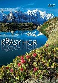 Krásy hor 2017 - nástěnný kalendář