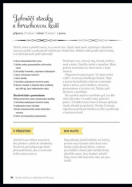 Náhled Menu pro vysoké podpatky - Domácí recepty pro aktivní ženy, Lehký a pikantní způsob stravování