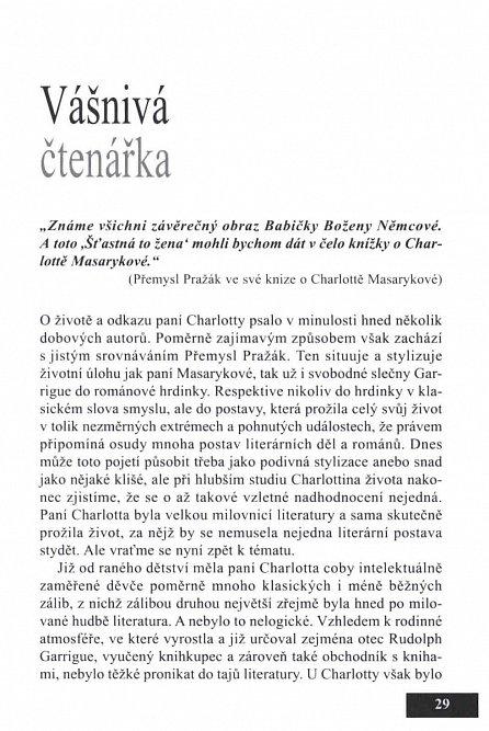 Náhled Charlotta Masaryková ve stínu...