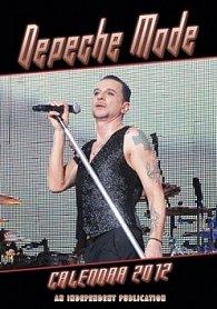 Kalendář 2012 - Depeche Mode