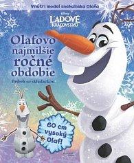 Ľadové kráľovstvo Olafovo najmilšie ročné obdobie Príbeh so skladačkou
