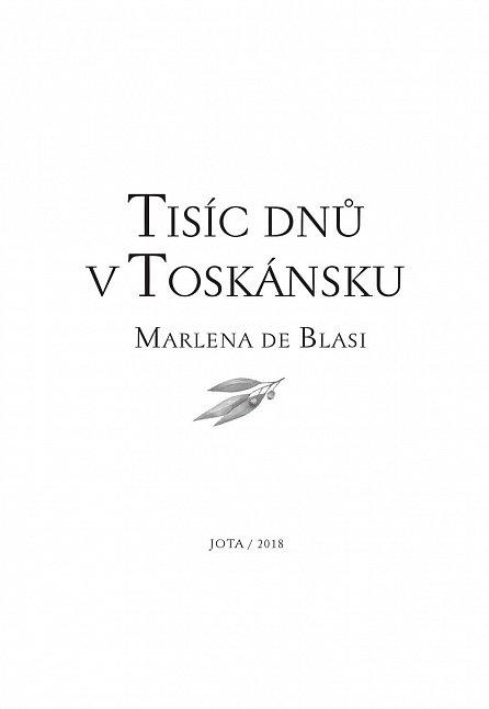 Náhled Tisíc dní v Toskánsku