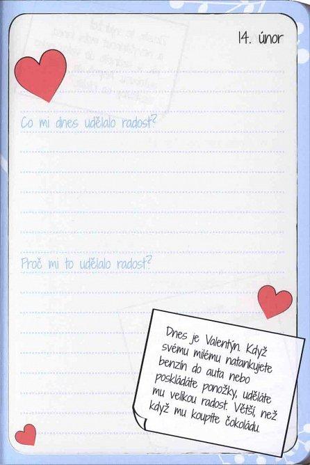 Náhled Zápisník radosti - 365 tipů, jak mít a dělat radost každý den