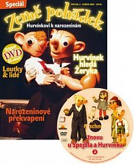 Země pohádek Hurvínkovi k narozeninám + DVD Znovu u Spejbla a Hurvínka 2