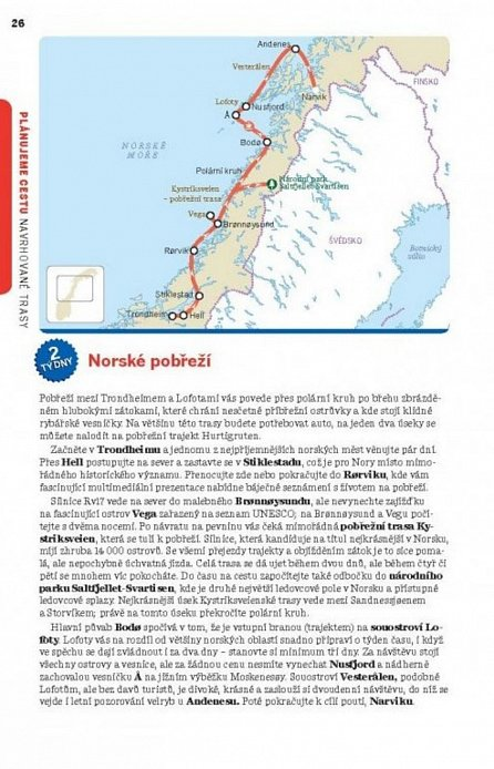 Náhled Norsko - Lonely Planet