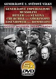 Generálové 2. světové války I. 5 DVD