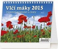 Kalendář stolní 2015 - Vlčí máky