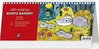 Kalendář stolní 2015 - Děti malují pro Konto Bariéry