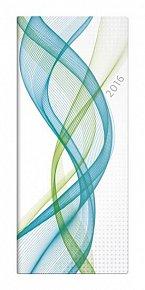 Diář 2016 - Napoli měsíční kapesní PVC - design 03