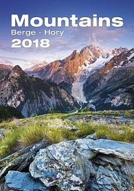 Kalendář nástěnný 2018 - Hory
