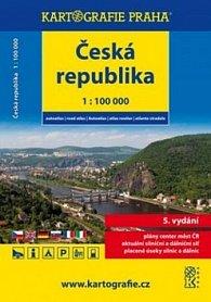Česká republika - autoatlas 1:100 000