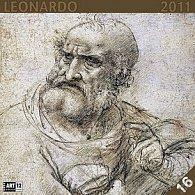 Kalendář 2011 - Leonardo da Vinci (30x60) nástěnný poznámkový