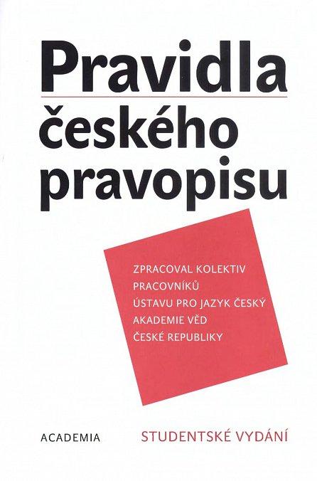 Náhled Pravidla českého pravopisu