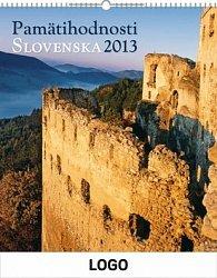 Kalendář 2013 - Pamatihodnosti Slovenska