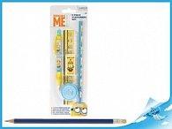 Mimoň sada psacích potřeb Minions 5 ks na kartě